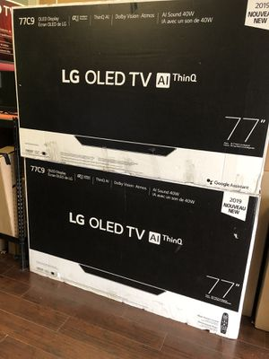 LG 77 inch OLED 4K smart TV with Warranty new sealed with warranty for Sale in Huntington Park, CA