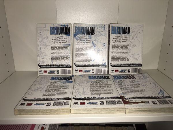 Bakuman Manga 1-12,14,16