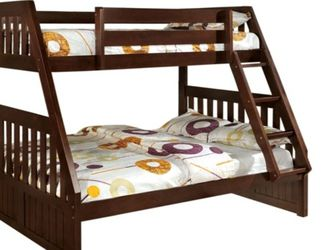 wood bunk beds twin/ full brand new in a box for Sale in Philadelphia,  PA