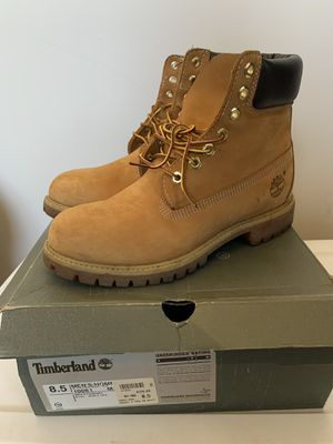 Timberland 6 IN PREMIER WHEAT Size 8.5 for Sale in Los Angeles, CA