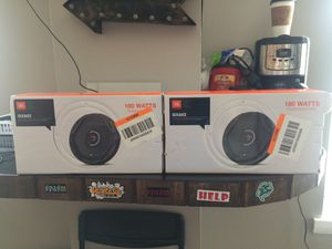 BRAND NEW JBL GX602 6-1/2 (165mm) car audio speakers. Best you can buy for Sale in Baltimore, MD