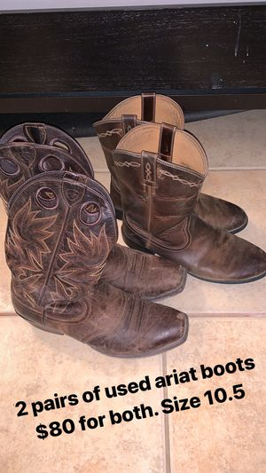Ariat Boots size 10.5 for Sale in Fresno, CA