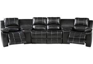 5 piece Premium leather reclining sofa. for Sale in Deerfield Beach, FL