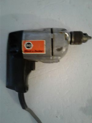 black and Decker drill good for life time 10$ for Sale in Boca Raton, FL