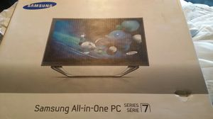 "Samsung series 7 all in one pc 1tb hard drive 6gigs of ram 23.6"" display for Sale in Hickory, OK"