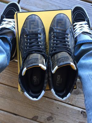 Men's fendi shoes SZ 12 for Sale in Fort Washington, MD