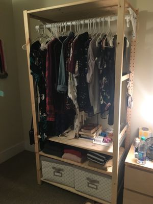 IKEA Ivar shelf/open wardrobe/dresser for Sale in Washington, DC