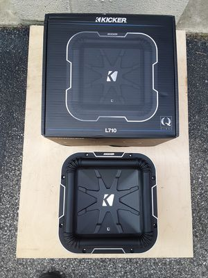 NEW! 10 inch Kicker L7 subwoofer for Sale in York, PA