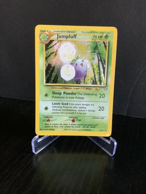 Pokemon Card 1x Jumpluff Holo 7/111 Neo Genesis Vintage WOTC OBO for Sale in Garden Grove, CA