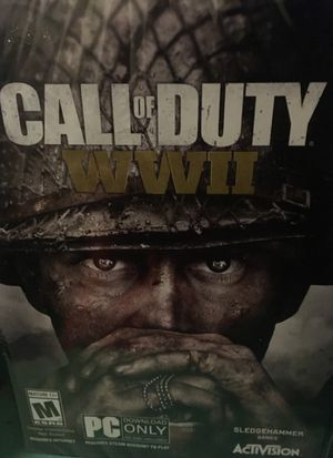 """PC (only ) """" CALL of DUTY """" video game for Sale in Portland, OR"""