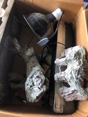 Reptile / fish tank decoration rocks for Sale in Carlsbad, CA