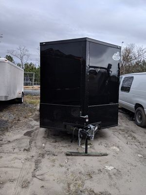 Black out 2019 enclosed trailer 7x16 new for Sale in Alafaya, FL