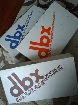 NOS dbx pro audio equipment for Sale in Vacaville, CA