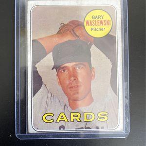 1968 Gary Waslewski Baseball Card for Sale in Pompano Beach, FL
