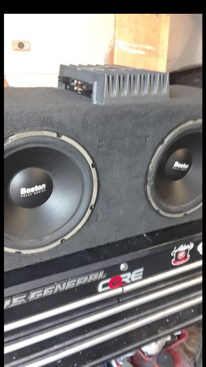 Sub and amp rockford fosegate for Sale in Cerritos, CA