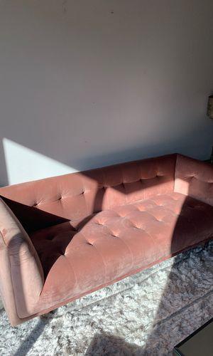 Conrad Chesterfield Sofa Blush Mauve for Sale in Los Angeles, CA