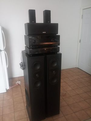 Surround sound system for Sale in Garfield, NJ