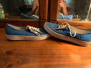 Blue Vans Sneaker for Sale in Toledo, OH