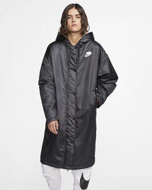 Nike Women's Sportswear Parka Black Coat Sports Pack Size XL BV3125-010 Jacket for Sale in Fremont, CA