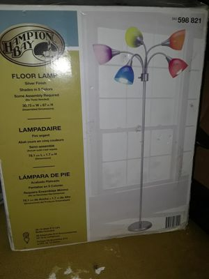 New in box colorful floor lamp for Sale in San Diego, CA
