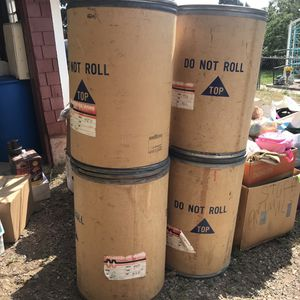 55 Gallon Fiber Drums for Sale in Golden, CO