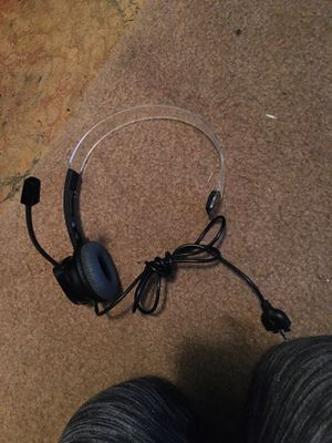 Xbox 360 headset for Sale in Aberdeen, WA