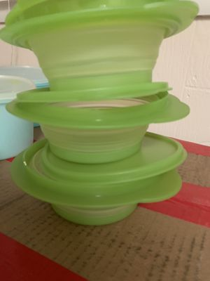 Vintage Tupperware Stuffable Storage containers for Sale in Lewisberry, PA