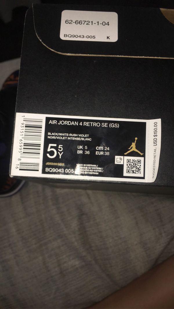 Air Jordan 4 Retro SE (GS)
