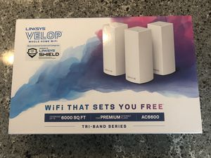 Linksys Velop Mesh Router for Sale in Everett, WA