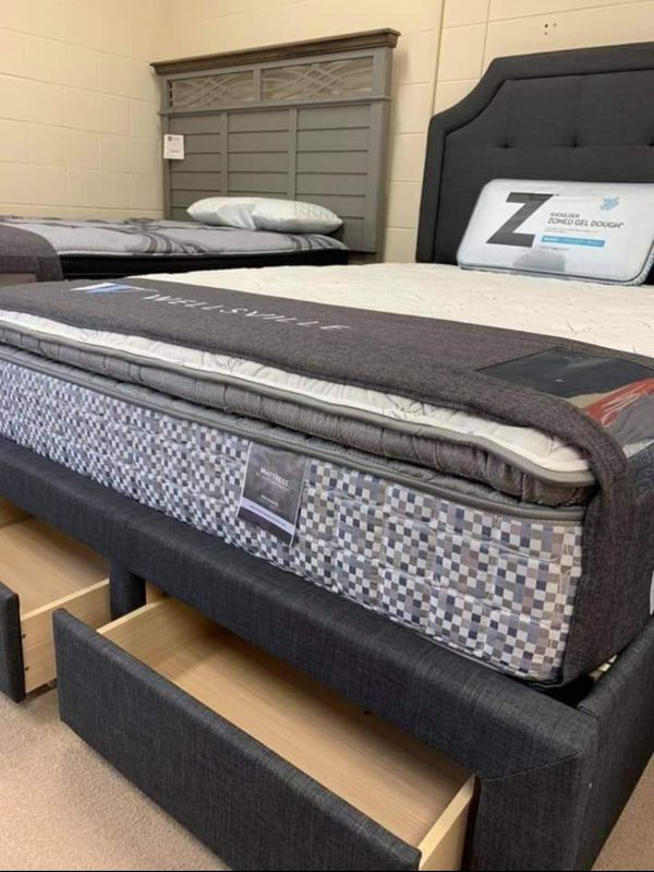 King queen and full size mattresses brand new in factory plastic