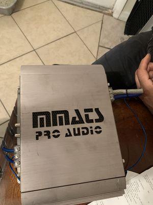 Mmats Pro Audio 1001.2 Old School Amp for Sale in Orlando, FL