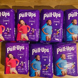 Huggies pull ups diapers $6 each 4t-5t for Sale in East Los Angeles, CA