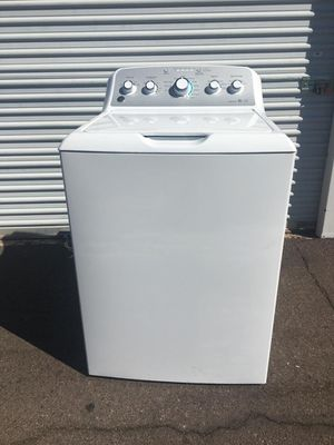 GE, washer in good condition works Everything very well clean and nice one month warranty deliver available for Sale in Tempe, AZ