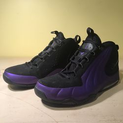 Nike Air Max Wavy Black Purple Eggplant Basketball Shoes Sz 11 for Sale in Silver Spring,  MD