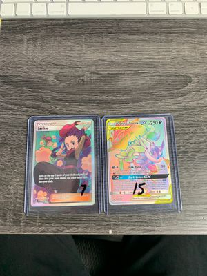 Pokemon PACK FRESH Unbroken Bonds GX Full Art Greninja Zoroark Janine for Sale in Dunedin, FL