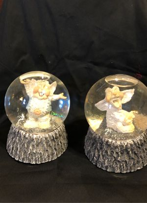 Krystonians puffles and triumph water globes for Sale in Louisville, KY