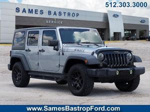 2016 Jeep Wrangler Unlimited for Sale in Austin, TX