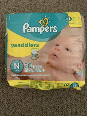 Brand new pampers swaddler newborn size diapers for Sale in Queen Creek, AZ