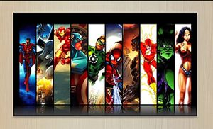 Wrapped Canvas of Marvel Superheroes for Room Decor for Sale in Kirkland, WA