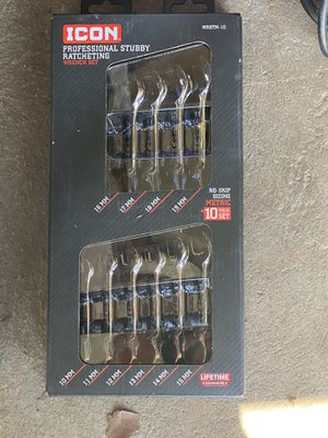 10 pc ratcheting wrench set for Sale in Columbus, OH
