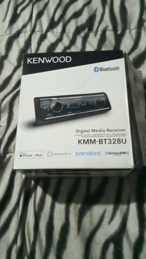Kenwood car stereo system with Bluetooth Pandora for Sale in Claymont, DE