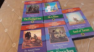 VHS Set Children's Bible Stories for Sale in Rancho Cucamonga, CA
