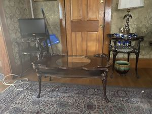 Antique Coffee Table and 2 End Tables for Sale in Everett, MA