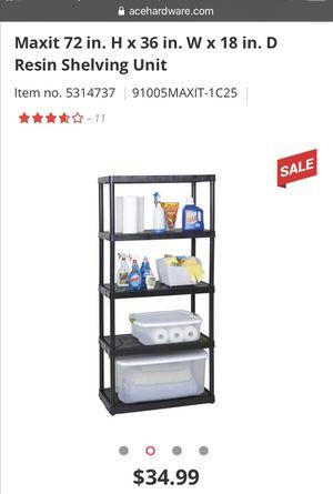 Shelving unit for Sale in Oakley, CA