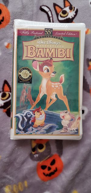 *SEALED* Bambi VHS for Sale in Miami, FL
