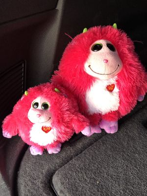 Googly noice stuffed animals for Sale in Aurora, CO