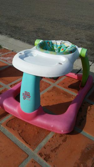 Baby walker scooter high chair all in one for Sale in San Diego, CA