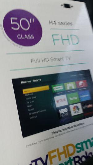 50 inch Hisense Smart TV for Sale in Charlotte, NC