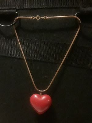 Big heart charm chocker/collar for Sale in White Oak, GA