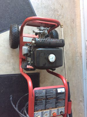 Coleman 2400 psi powermate pressure washer for Sale in Converse, TX